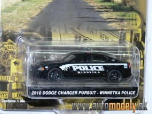 GreenLight - Dodge Charger Pursuit (2010) Winnetka POLICE - 1:64
