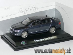 "Abrex - Škoda Superb II ""Laurin & Klement"" 1:43"