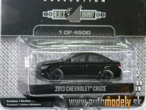 GreenLight - 2013 Chevrolet Cruze ( Black Bandit ) - 1:64