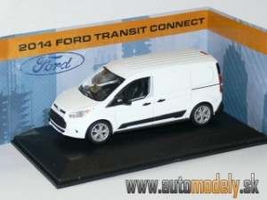 GreenLight - Ford Transit Connect 2014 White - 1:43