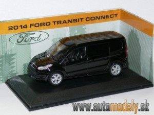 GreenLight - Ford Transit Connect 2014 Black - 1:43