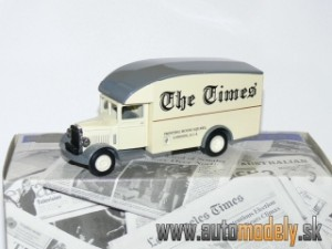 "Matchbox Yesteryear YPP02 - 1931 Morris Van "" London Times"""