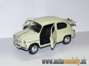 Solido - Seat 600D ( 1966 ) - 1:18
