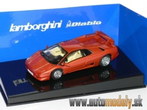 AutoArt 54572 - Lamborghini Diablo Coupe VT (Metallic Red) - 1:43