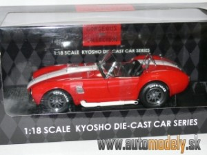 Kyosho - Shelby Cobra 427S/C Racing (Red) - 1:18