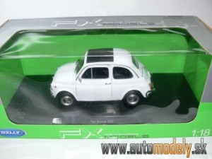 WELLY FX - Fiat Nuova 500 - 1:18