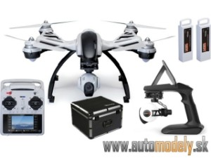 Yuneec Q500+ Typhoon CGO2-GB ST10+ RTF, kufr, Steady Grip