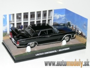 Lincoln Continental - Goldfinger - James Bond 007 - 1:43