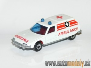 Matchbox Superfast No.12 - Citroen CX - Ambulance
