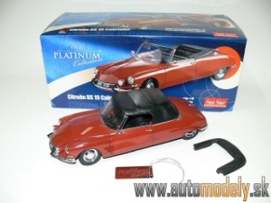 Sunstar - Citroen DS 19 Cabriolet - 1:18