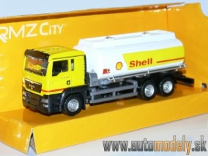 "RMZ City - MAN TGS ""Shell"" - 1:64"
