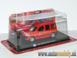 Amercom - 2005 Citroen Berlingo France Hasiči - 1:45
