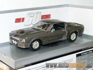 GreenLight - 1967 Ford Mustang Shelby GT500 ELEANOR - Gone in 60 Seconds - 1:24