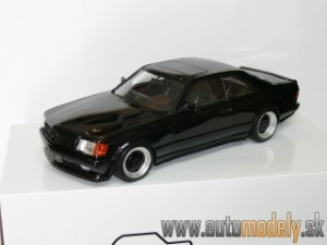 Otto Mobile - Mercedes Benz AMG 560 SEC Wide Body ( Black ) - 1:18