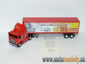 Matchbox - DYM 38314 - Freightliner McDonald's 45th Anniversary