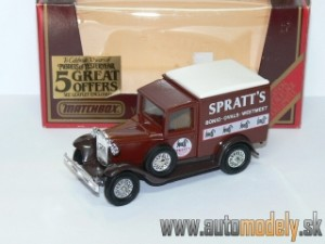 "Matchbox Yesteryear - Y-22 1930 Ford Model 'A' Van ""SPRATT´S"""