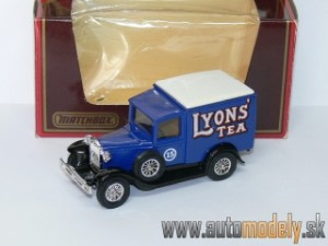 "Matchbox Yesteryear Y-22 - 1930 Model ""A"" Ford Van ""Lyons Tea"""