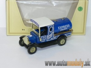 "Matchbox Yesteryear Y-3 - 1912 Mode ´T´ Ford Tanker ""EXPRESS DAIRY"""