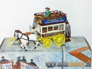 "Matchbox Yesteryear YSH2 - London OmniBus & Horses ""Baker St. & Waterloo"""