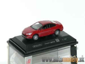 Welly - Peugeot 407 Coupe - 1:87