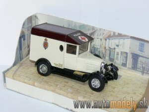Matchbox Y-19 - 1929 Morris Cowley Van - Colchester Borough POLICE