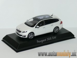 Norev - Peugeot 308 SW 2013 Pearly White - 1:43