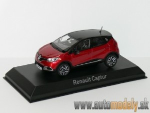 Norev - Renault Captur 2013 Flamme Red/Black - 1:43