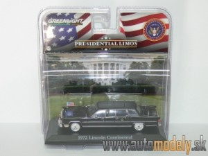 GreenLight - 1972 Lincoln Continental - Presidential Limos - Gerald R. Ford - 1:43