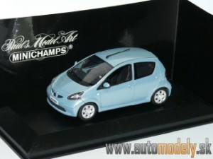 Minichamps - Toyota Aygo ( 2005 ) 5-door - 1:43