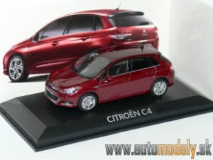 Norev - Citroen C4 ( Dark Red ) - 1:43