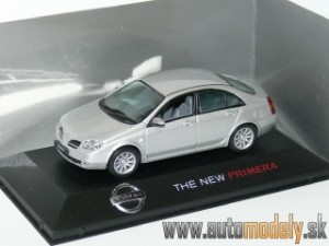 J-Collection - Nissan Primera ( Silver ) - 1:43