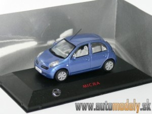 J-Collection - Nissan Micra ( Blue ) - 1:43