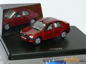 Eligor - Renault Logan ( Dark Red ) - 1:43
