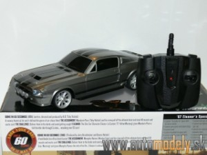 GreenLight - 1967 Ford Mustang Shelby GT500 - RC Model 2,4 GHz - ELEANOR - Gone in 60 Seconds - 1:18