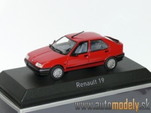Norev - Renault 19 Red ( 1989 ) - 1:43