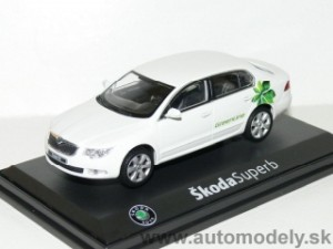 ABREX - Škoda Superb II - Green Line - 1:43