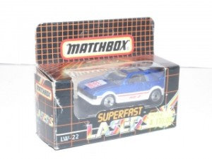 Matchbox Lasers- Toyota MR2 (LW 22)