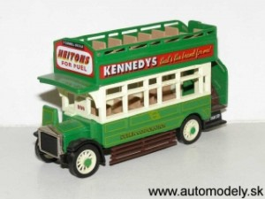 Matchbox Yesteryear - YET05 - AEC S TYPE BUS-1922