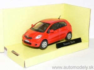 Cararama - Toyota Yaris ( red ) - 1:43