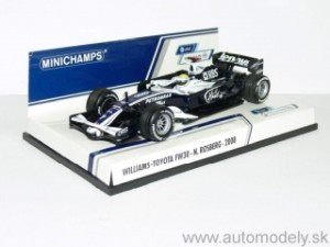 Minichamps - Williams-Toyota FW30 - Nico Rosberg 2008 - 1:43