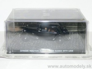 "Citroen Traction Avant - JAMES BOND""From Russia With Love""- 1:43"