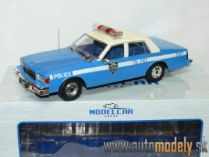 Model Car Group - Chevrolet Caprice Classic Sedan NYPD POLICE - 1:18