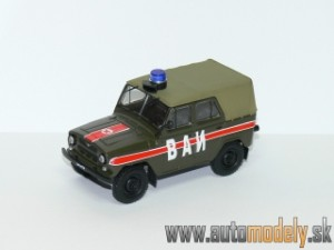 GAZ-469 VAI MILITARY TRAFFIC - 1:43 DeAgostini