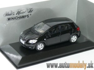 Minichamps - Toyota Auris 2008 Black - 1:43