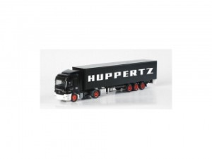 "MB Actros L curtain canvas semitrailer ""Huppertz"""