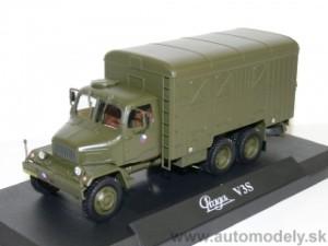 1:120 Soviet KRAZ-256 tipper TT Limited edition kit