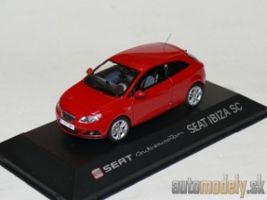 Seat Ibiza SC - Red - Automotion - 1:43