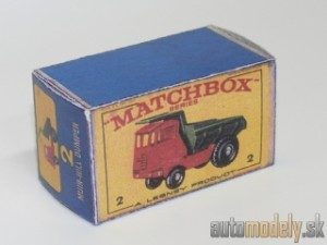 Replika Box - Matchbox Regular Wheels - No.2 Muir-Hill Dumper
