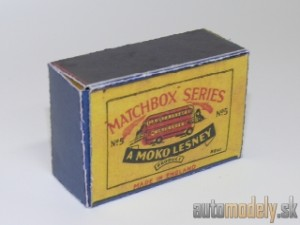 Replika Box - Matchbox Regular Wheels - No.5 London Bus