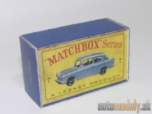 Replika Box - Matchbox Regular Wheels - No.7 Ford Anglia